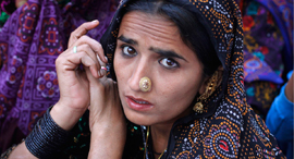קראצ'י פקיסטן נשים בסיכון, צילום:  רויטרס