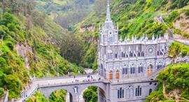 פוטו ארכיטקטורה מנזר לאס לאגאס קולומביה נרינו, צילום: שאטרסטוק