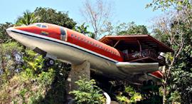 פוטו מקומות לחופשה שילהיבו את הילדים מלון על מטוס קוסטה ריקה