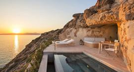 מלון Cap Rocat  מיורקה ספרד חדר שינה, צילום: Mr & Mrs Smith