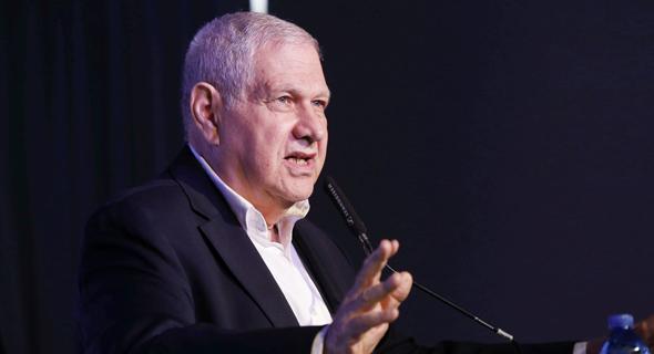 """היו""""ר היוצא של לאומי דוד ברודט , צילום: עמית שעל"""