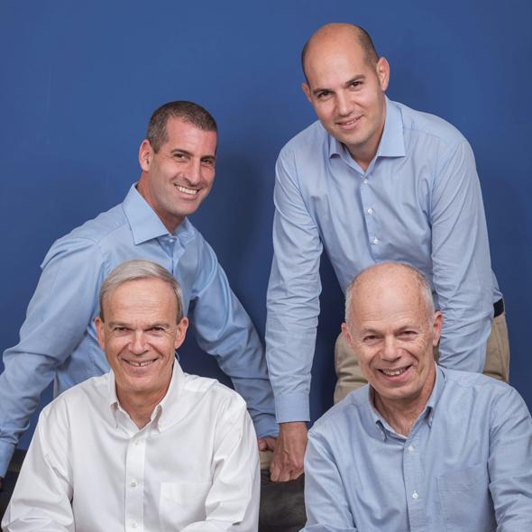 Tal Shaked, Yair Elbaz, Amiram and Joshua Levinberg of JAL Ventures