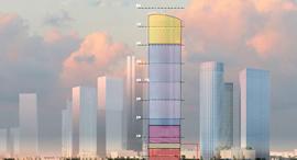 מגדל עזריאלי הרביעי הדמיה