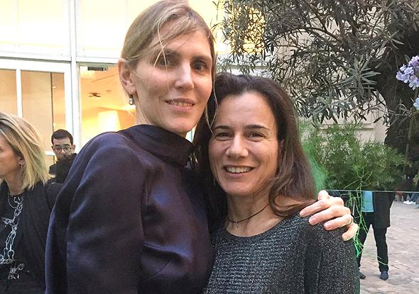 """מימין: דפנה ניסנבוים, מנכ""""לית Tipa, וגבריאלה הרסט. תחום האריזות המתכלות יורחב לענף האופנה"""