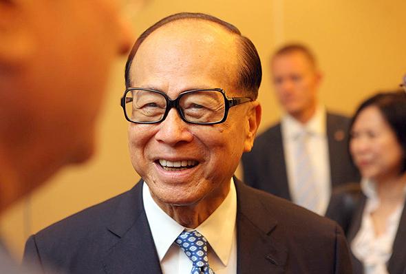 לי קא שינג, צילום: עמית שעל