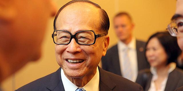 לי קא שינג מיליארדר סיני, צילום: עמית שעל