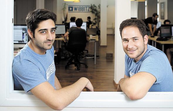 מימין: יותם כהן וזוהר דיין, חברת Wibbitz