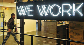 WeWork shared office space