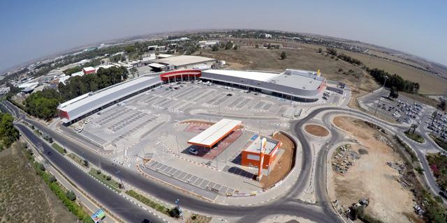 מרכז הקניות מול 7, צילום: עיריית שדרות