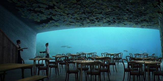צפו: כך תיראה המסעדה התת ימית הראשונה באירופה