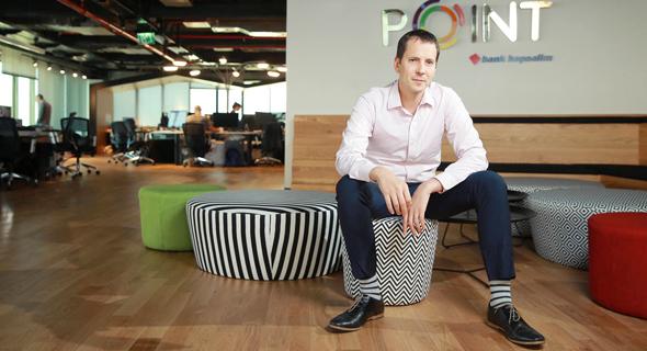 שחר מרקוביץ, מנהל הדיגיטל בבנק הפועלים, צילום: אוראל כהן