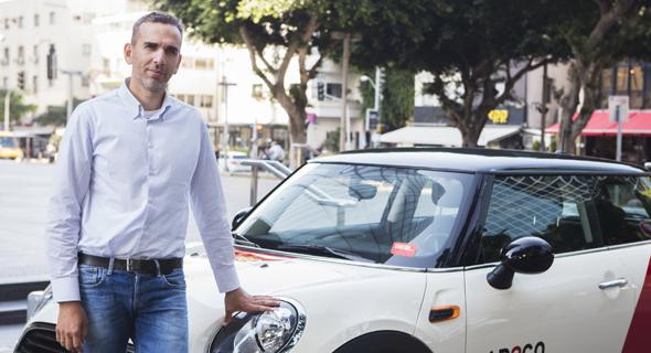 """גיל לייזר מנכ""""ל קאר2גו, צילום: יח""""צ"""