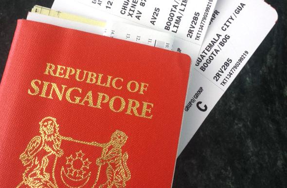 דרכון סינגפורי , צילום: koalatravelstheworld