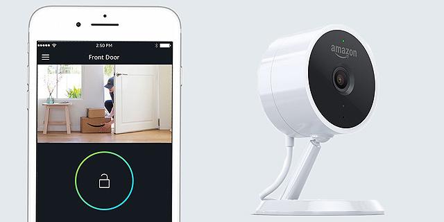 אמזון נכנסת לשוק אינטרנט הדברים; חשפה מצלמה חכמה ב-119 דולר
