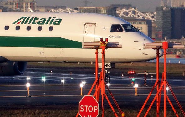 מטוס של אליטליה