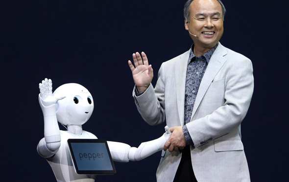 SoftBank founder and CEO Masayoshi Son. Photo: Getty Images