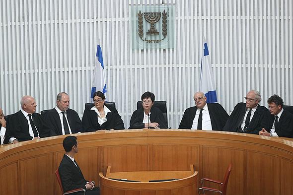 טקס הפרישה של נשיאת בית המשפט העליון מרים נאור , צילום: יונתן זינדל/פלאש90