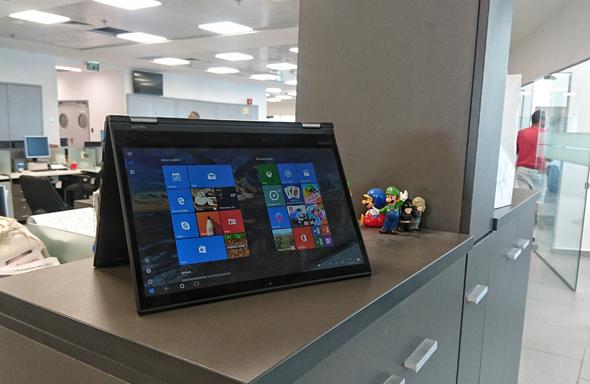 לנובו ThinkPad Yoga 370 לפטופ לפטופים 1, צילום: ניצן סדן