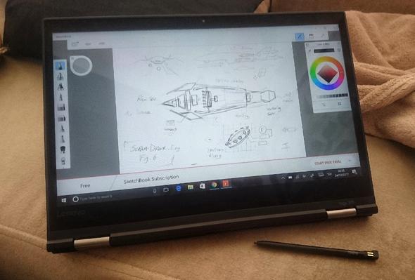 לנובו ThinkPad Yoga 370 לפטופ לפטופים 7, צילום: ניצן סדן