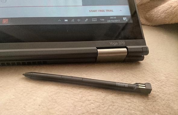 לנובו ThinkPad Yoga 370 לפטופ לפטופים 8, צילום: ניצן סדן