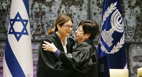 נשיאות בית המשפט העליון מרים נאור ואסתר חיות. גם שם נחוצה העדפה מתקנת