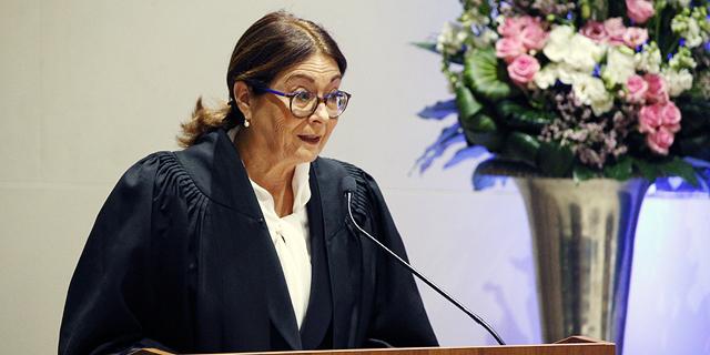 """נשיאת בית המשפט העליון: """"השופטים הוצגו כאויבי העם"""""""