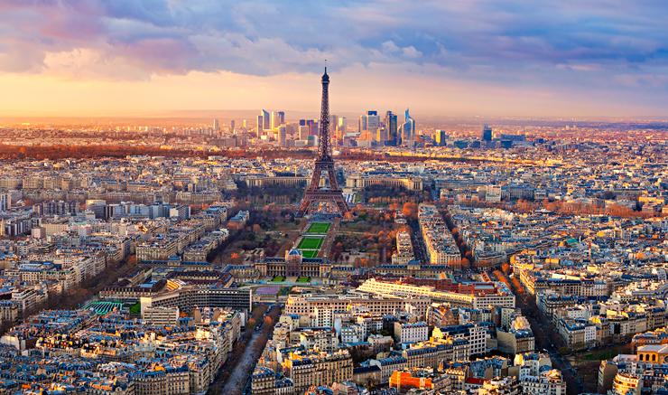 פריז, מקום שביעי