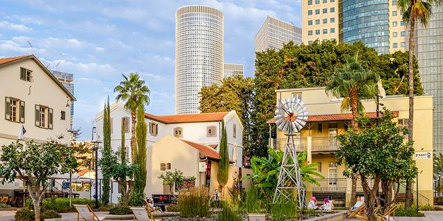 מרכז שרונה תל אביב מגדלי עזריאלי