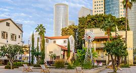 מרכז שרונה תל אביב מגדלי עזריאלי, צילום: שאטרסטוק