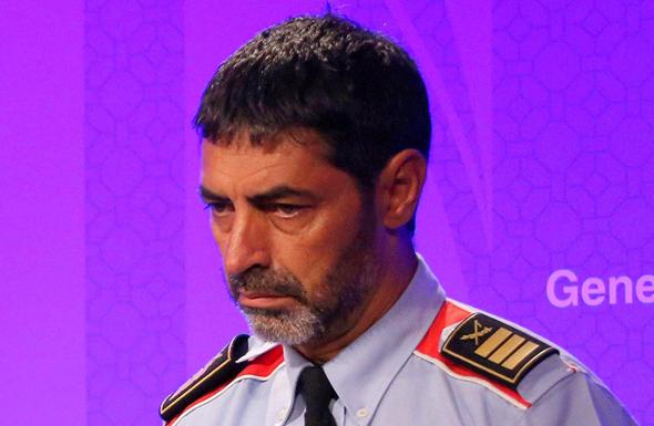 מפקד המשטרה המודח בקטלוניה ג'וזף לואיס טראפרו