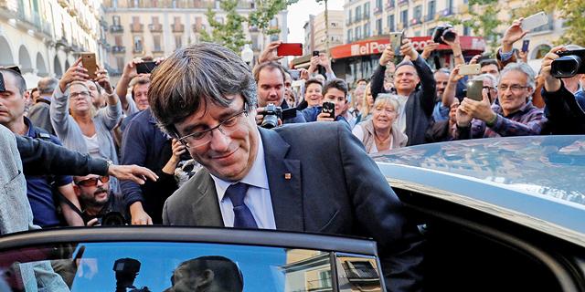 """נשיא קטלוניה המודח: """"ייתכן שאתמודד בבחירות מבלגיה"""""""