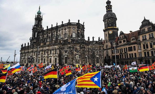 הפגנה בברצלונה