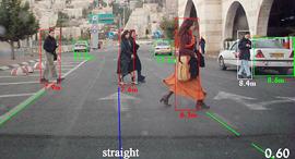 תוכנת עיבוד התמונה ברכב של מובילאיי