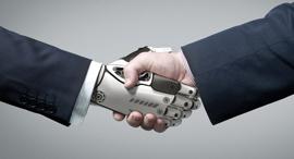 בעתיד נעבוד לצד רובוטים, אילוסטרציה, צילום: שאטרסטוק