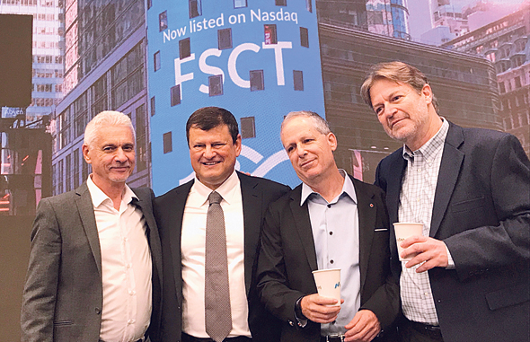 Forescout's founding team. Photo: Forescout Technologies Inc.
