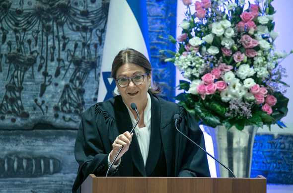 Chief Justice Esther Hayut of Israel's Supreme Court. Photo: Ohad Tsoigenberg