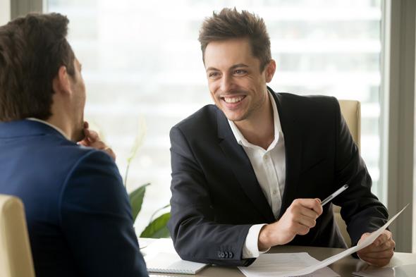 ראיון עבודה. אל תתביישו לומר שאתם מעוניינים בעבודה