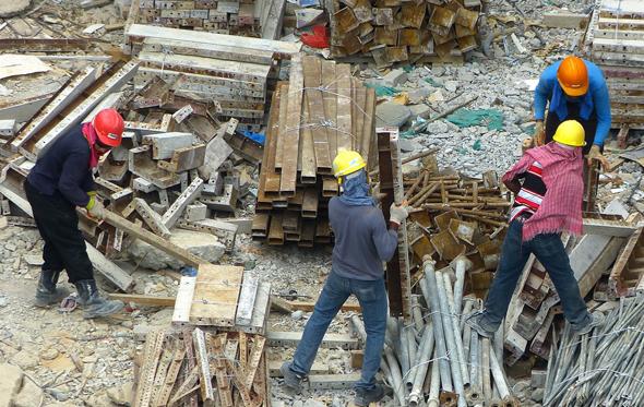 פועלי בניין , צילום: cegoh