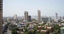 מגדלים במרכז העיר מומבאי הודו, צילום: ננה צ'וק