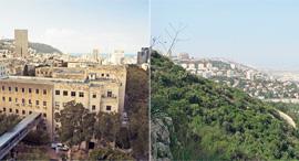 חיפה מול נשר , צילום: חנה יריב, ויקפדיה