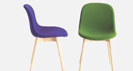 כיסאות של מותג Hay, צילום: Patrick Quayle