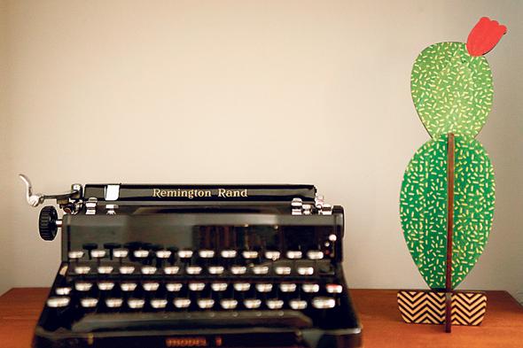 מכונת כתיבה של רמינגטון שסולודקין הזמין לסחרוב ליום הולדתה