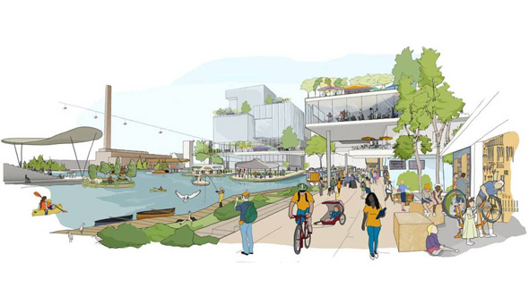 פרויקט העיר החכמה של טורונטו מבית גוגל
