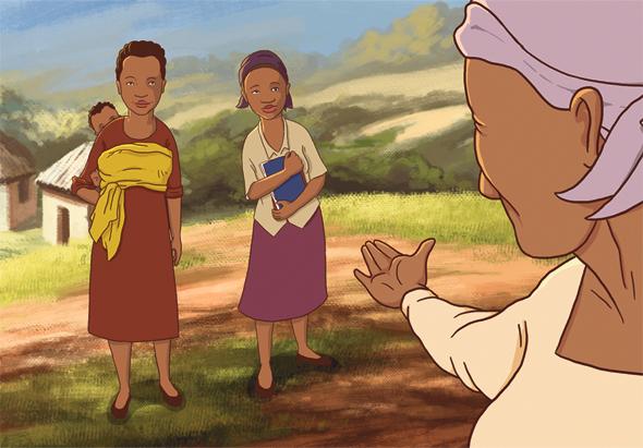 סרטון על מילת נשים של סטודיו מיינד־דה־גאפ. משודר ברחבי אפריקה