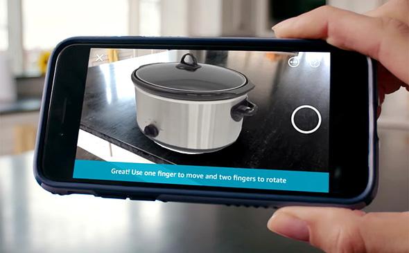 אמזון AR מציאות מוגברת
