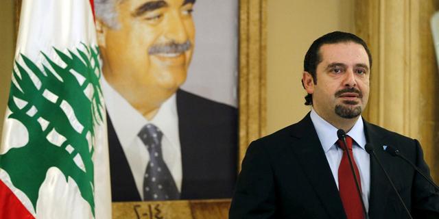 """ראש ממשלת לבנון חרירי הזהיר: """"חשש למחאה המונית בגלל ניסיון להקטין את הגירעון"""""""