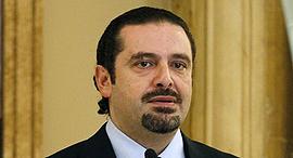 ראש ממשלת לבנון סעד אל חרירי שהתפטר, צילום: רויטרס