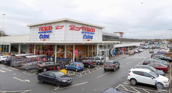 סניף של טסקו בבריטניה