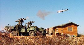ניסוי בטיל של רפאל (ארכיון), צילום: Rafael Advanced Defense Systems Ltd.