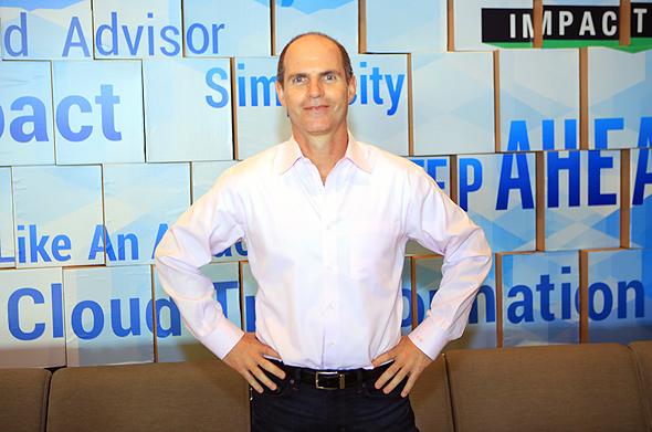 CyberArk CEO and co-founder Udi Mokady. Photo: Ben Ami Keren